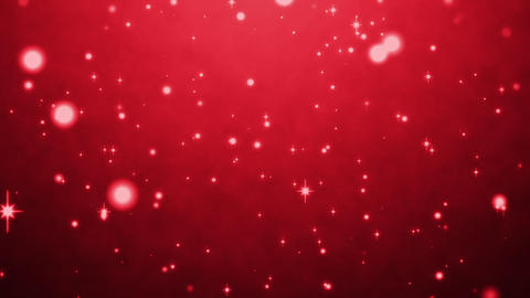 cute red particles abstract background CG動画