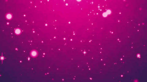cute purple particles abstract background Animation