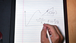 4K Scribble Complicated Math Formula Footage