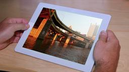 4K Photo Album on an iPad Footage