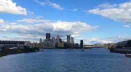 Pittsburgh Skyline Timelapse Footage