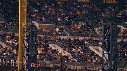4K PNC Park Sports Fans stock footage