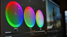 Video Editing Interface Elements Footage