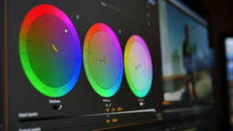 4K Editing Color Correcting Footage