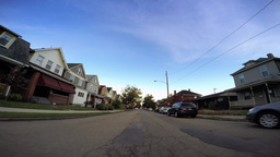 4K Driving in Pennsylvania Neighborhood POV Footage