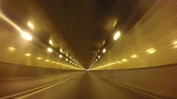 4K Driving POV Fort Pitt Tunnel Footage