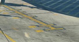 4K Airplane Arrives Footage