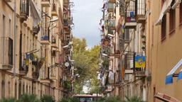 Barcelona Alley Footage