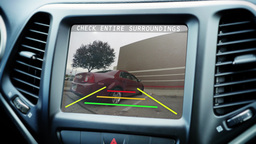 4K Vehicle Backup Camera Footage