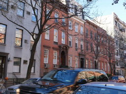 Chelsea Apartment Building Establishing Shot Footage