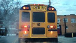 School Bus Stop Footage