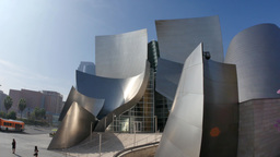 Walt Disney Concert Hall Establishing Shot Footage