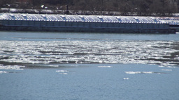 Ohio River Ice Flow Timelapse Footage