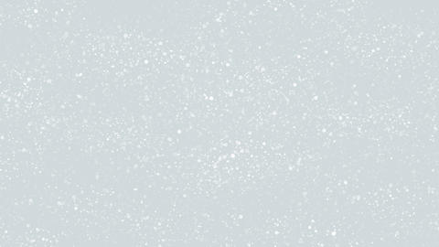 White Glitter Particles Background Animation