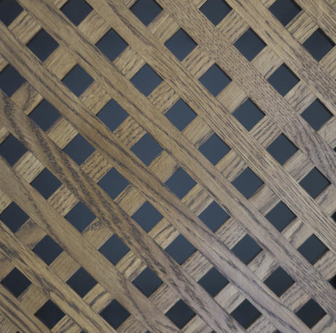 oak wood lattice texture background surface with old natural pattern Photo