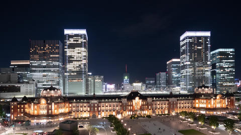 Timelapse - Twilight time view of Tokyo FIX 영상물