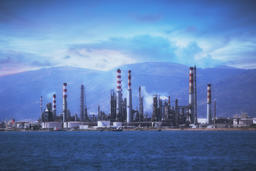 Tupras Rafinery, Kocaeli - Turkey, 8.15.2018 Fotografía