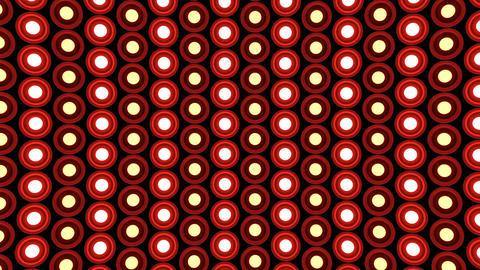 Lights flashing wall round bulbs pattern static diagonal... Stock Video Footage