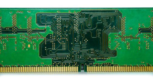 RAM board close up フォト