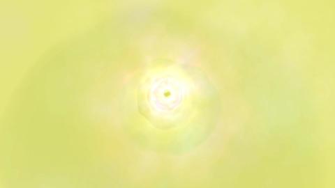 Yellow Cloud Tunnel Animation