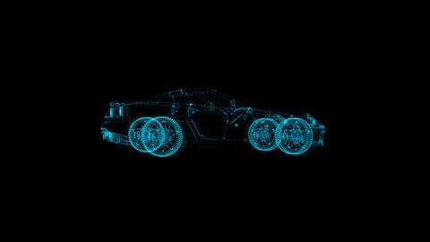 Car Hologram Animation