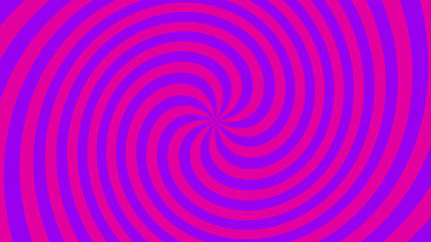Spiral Hypnotic Loop CG動画素材