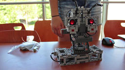 Mini robot Footage