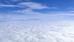 Aerial View Above Clouds Footage