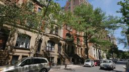 Typical Manhattan Brownstone Building Establishing Shot Footage