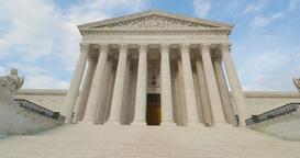 Supreme Court Tilt Up Establishing Shot Footage