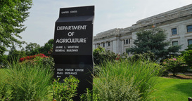 Department of Agriculture Building Establishing Shot Footage