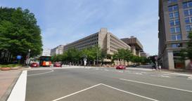 Federal Bureau of Investigation FBI Building Establishing Shot Footage