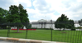 Establishing Shot of the White House Footage