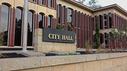 Wooster Ohio City Hall Establishing Shot Footage