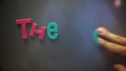 The End Title Page in Childish Magnets Footage
