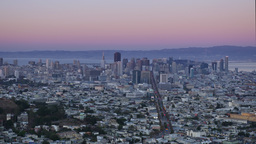 San Francisco Day to Night Time Lapse Footage