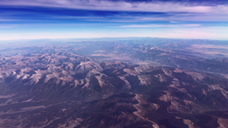 Aerial Over Western United States stock footage