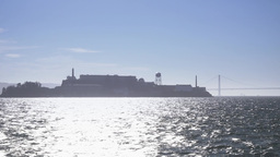 Alcatraz Island Establishing Shot Footage