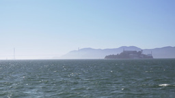 Alcatraz Island Establishing Shot Footage