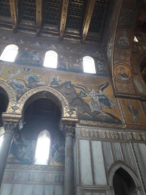 Monreale Church Sicily Fotografía