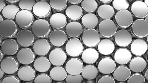 Background of Cylinders Animación