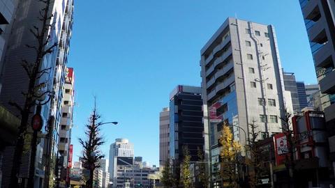 Japanese cityscape. Travel image around Ebisu station in Tokyo ビデオ