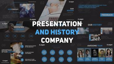 Presentation and History Company Premiere Pro Template