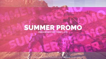 Summer Stylish Promo Premiere Pro Template