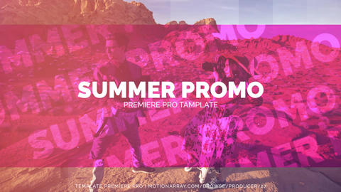Summer Stylish Promo Premiere Proテンプレート