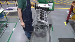 Diesel Engine Assembly Footage