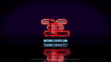 Neon Logo Plantilla de After Effects