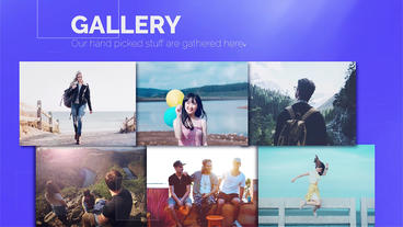Minimal Portfolio Display Premiere Pro Template