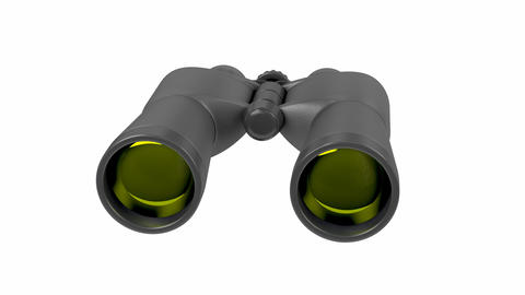 Black binoculars Animation