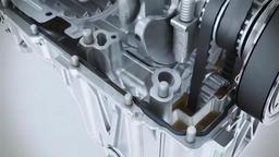 close-up car engine Footage